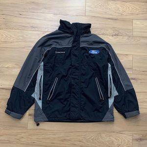 ◾️Ford x Lincoln Full-Zip Light Jacket (Sz M)
